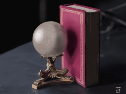 ball-and-book-still-life